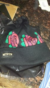 Motivation Rose Beanie