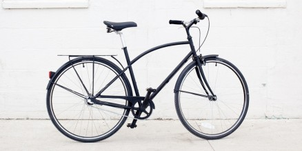 A-Type Bike Matte Black