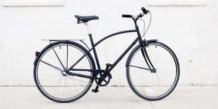 A-Type Bike Matte Black