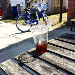 Ice Coffee & Arbor Bike